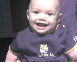 Our newest LSU fan