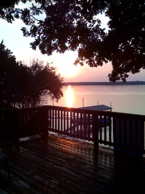 Sunset on Lake Texoma