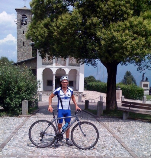 My 2nd time up the Ghisallo climb