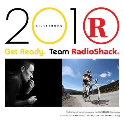 Team RadioShack and Lance Armstrong