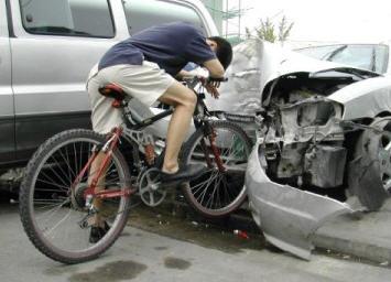 bike car collision