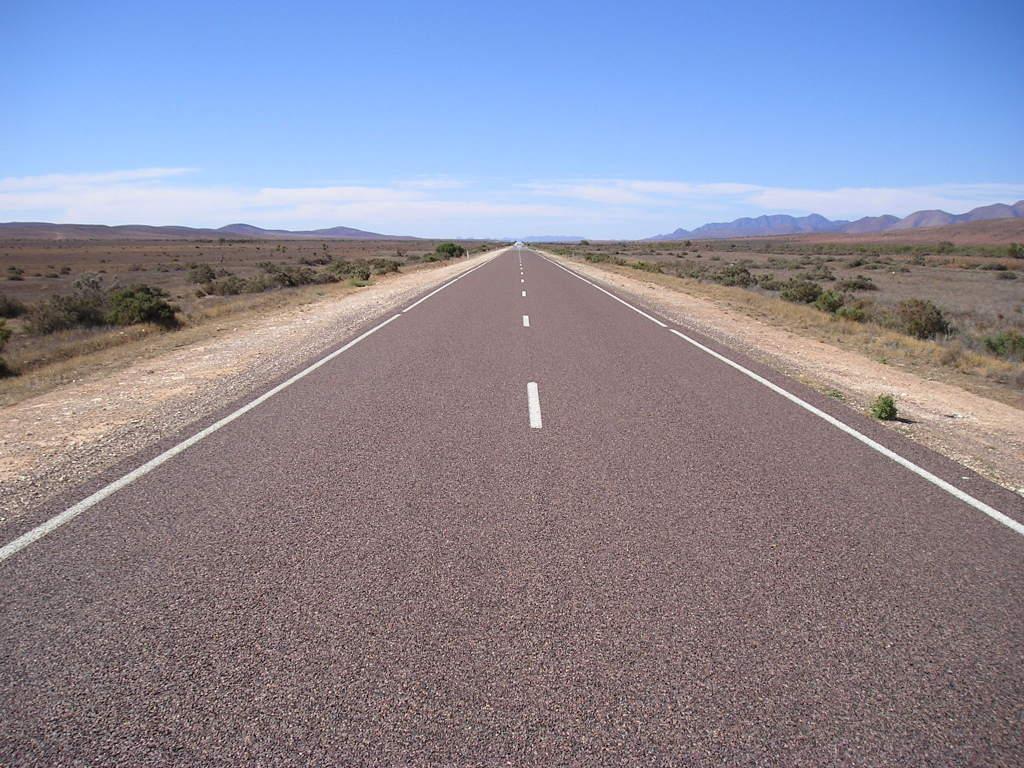 Long road ahead... Road